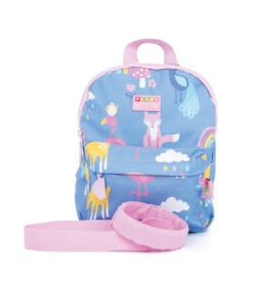 Mini Backpack with Rein - Rainbow Days ENG ONLY
