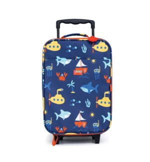 Kids Suitcase - 2 Wheels - Anchors Away ENG ONLY