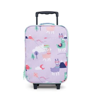 Kids Suitcase - 2 Wheels - Loopy Llama ENG ONLY