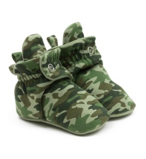 F20 - Snap Bootie - Camo 0-3mths