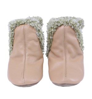 F20 - Cozies - Classic Bootie Taupe 0-6mths
