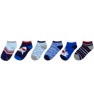 S21 - Kids Socks - Sharks 5-6.5