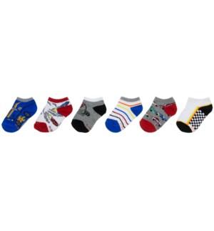 S21 - Kids Socks - Cars 5-6.5
