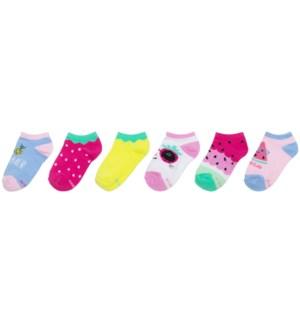 S21 - Kids Socks - Fruits 5-6.5