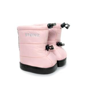 Toddler Puffer Booties - Haze Pink L