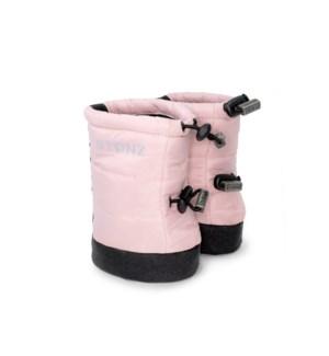 Baby Puffer Booties - Haze Pink S