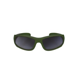 Kid Sport Sunglasses - Glossy - Forest Green 2-6yrs