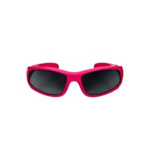 Baby Sport Sunglasses - Glossy - Fuchsia 0-2yrs