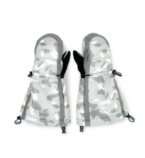 Youth Mitts - Accented Grey/Camo 12-24m