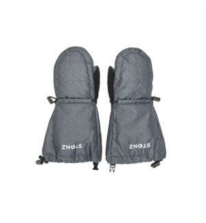 Youth Mitts - Heather Grey 4-8yrs