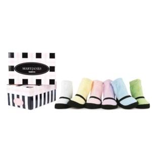 Trumpette Maryjane Pastel - Assorted Pastels - 2 sizes 0-12 months