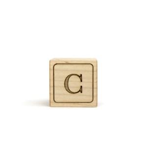 Letter Block C