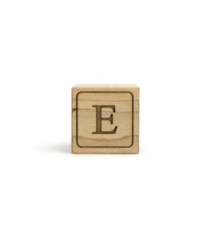Letter Block E