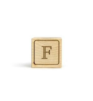 Letter Block F
