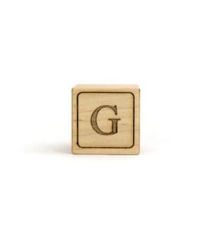 Letter Block G