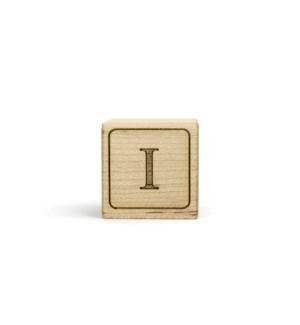 Letter Block I