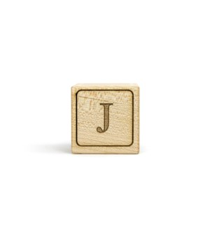 Letter Block J