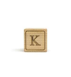 Letter Block K