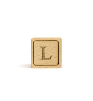 Letter Block L