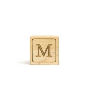Letter Block M