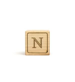 Letter Block N