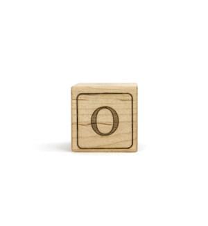Letter Block O