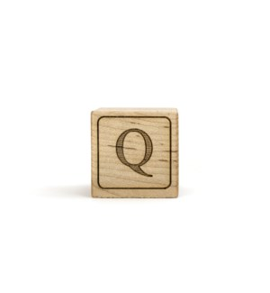 Letter Block Q