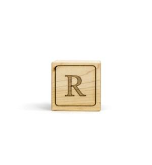 Letter Block R