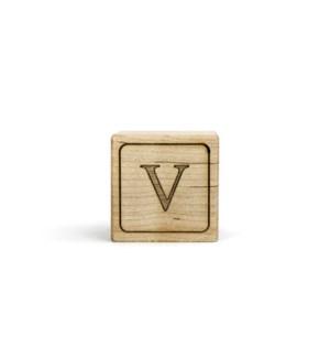 Letter Block V