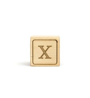 Letter Block X