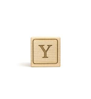 Letter Block Y