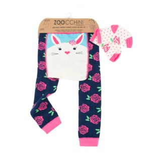 grip+easy™ Crawler Legging & Sock Set - Beatrice Bunny 12-18mths