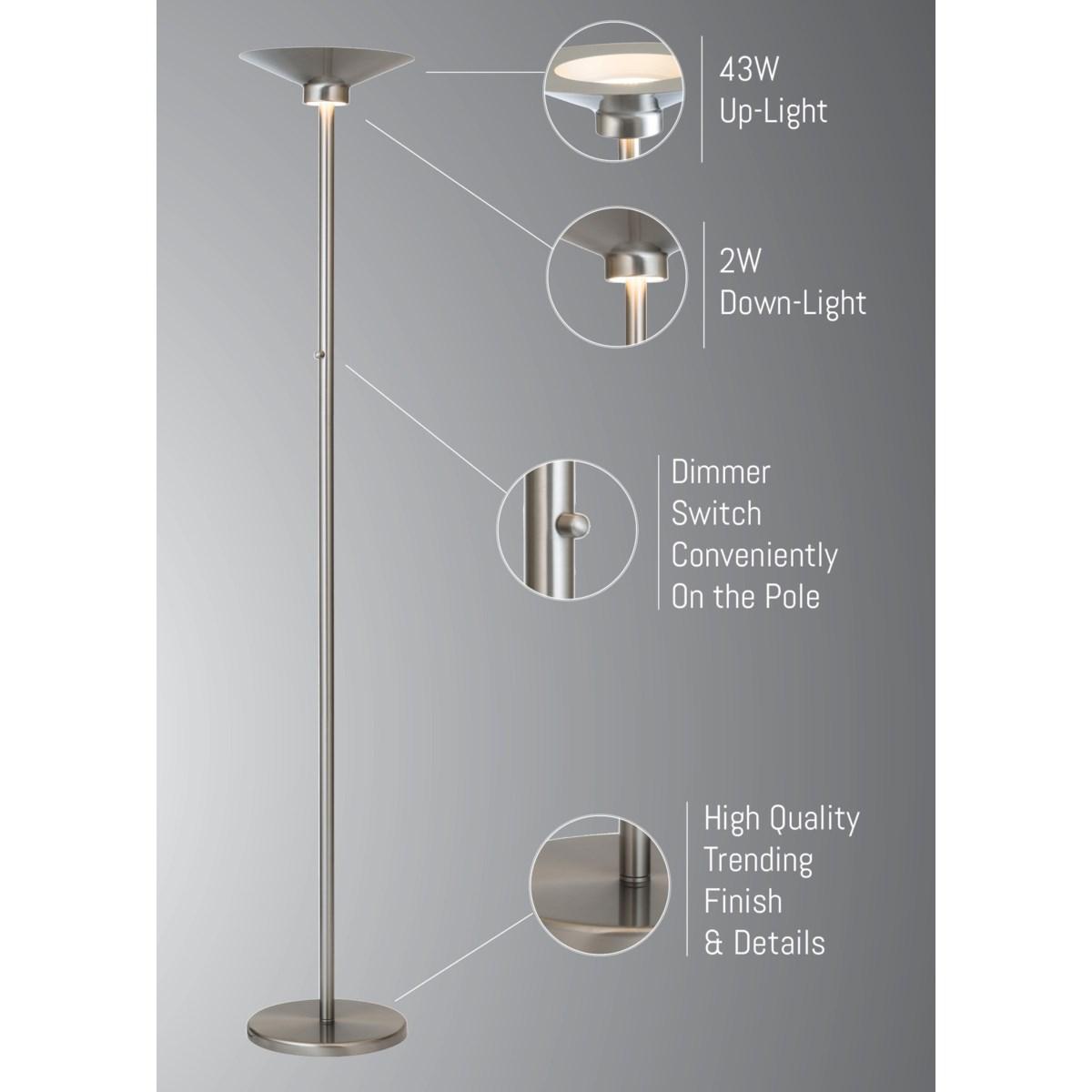 SAPPHO TORCH LAMP