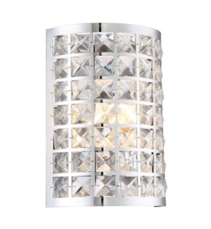 DAMOND WALL SCONCE (CLEARANCE SPECIAL)