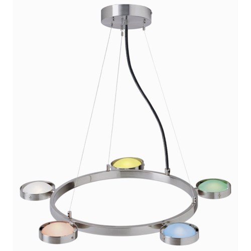 SHERBET CHANDELIER (CLEARANCE SPECIAL)