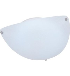 SHELLY FLUSH MOUNT (CLEARANCE SPECIAL)