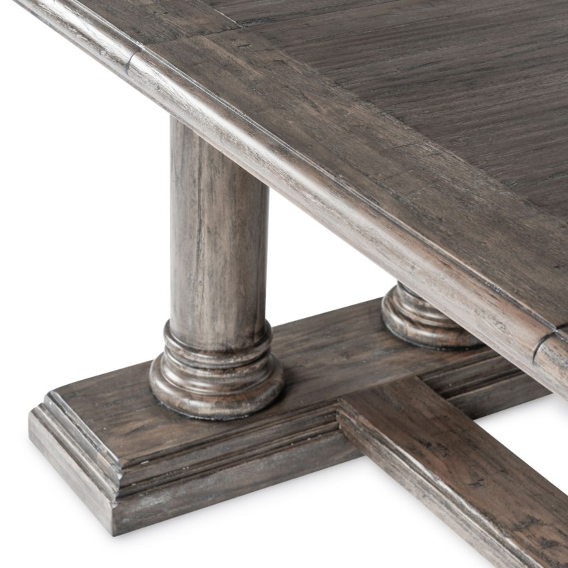 """Ascot Dining Table 88""""/110"""" Driftwood"""