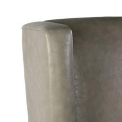 Elizabeth Arm Primo Stone - Dark Walnut