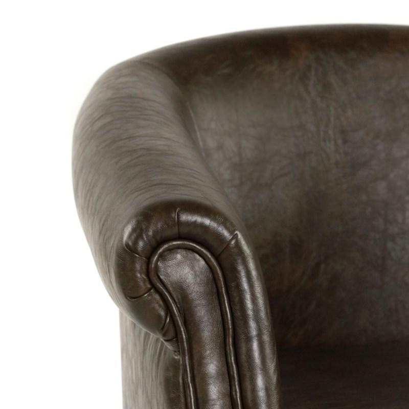 Mia Club Chair Primo Timber / Dark Walnut