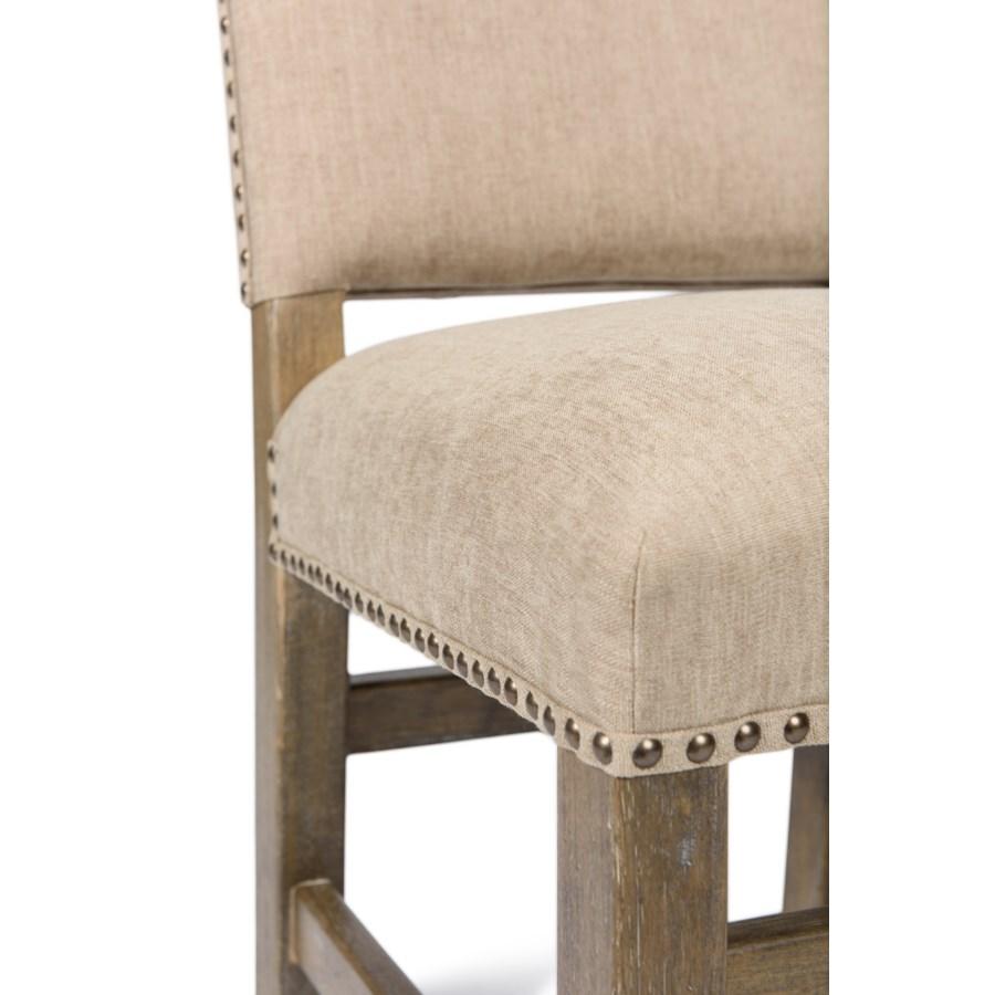 Leah Side Chair Granite Wheat Driftwood
