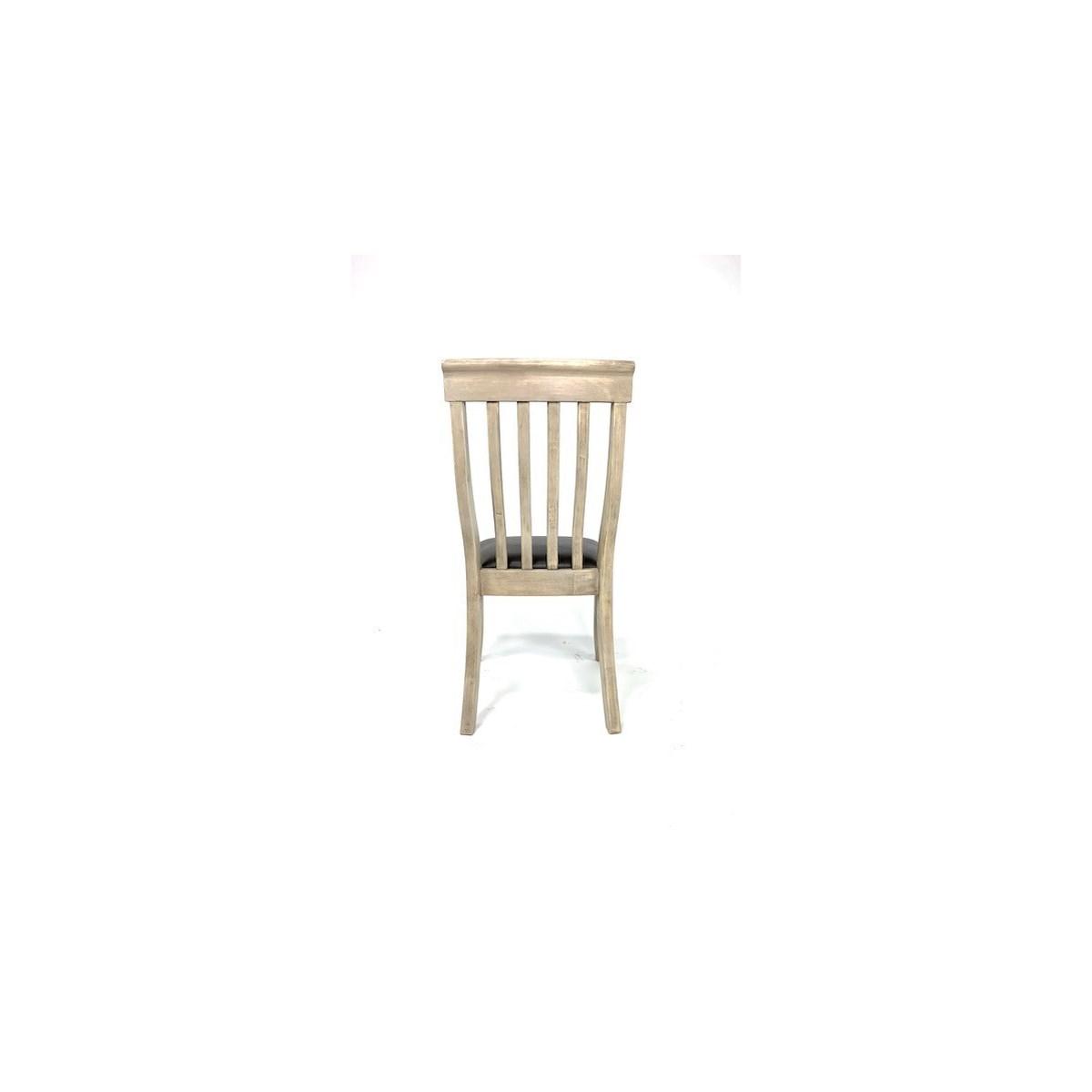 Luna Side Chair Primo Stone/ Gray Wash