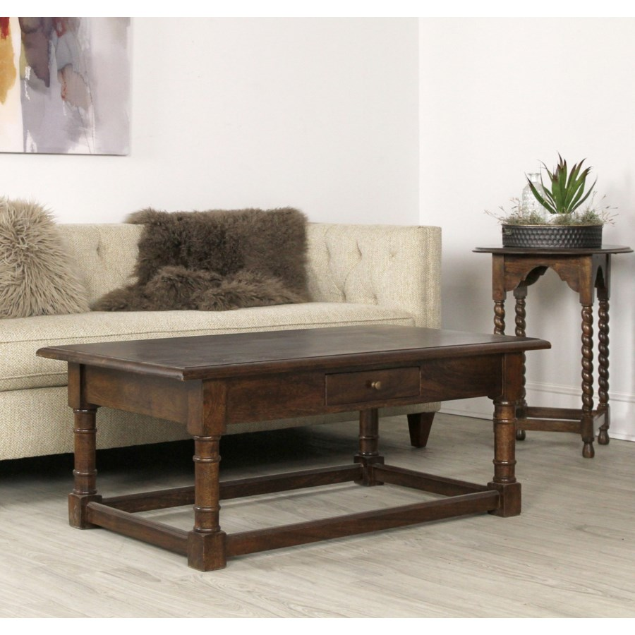 Haynes Coffee Table 48x28x20 Chestnut