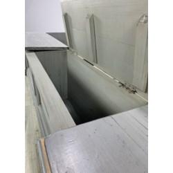 Aria King Bed / Medium Gray