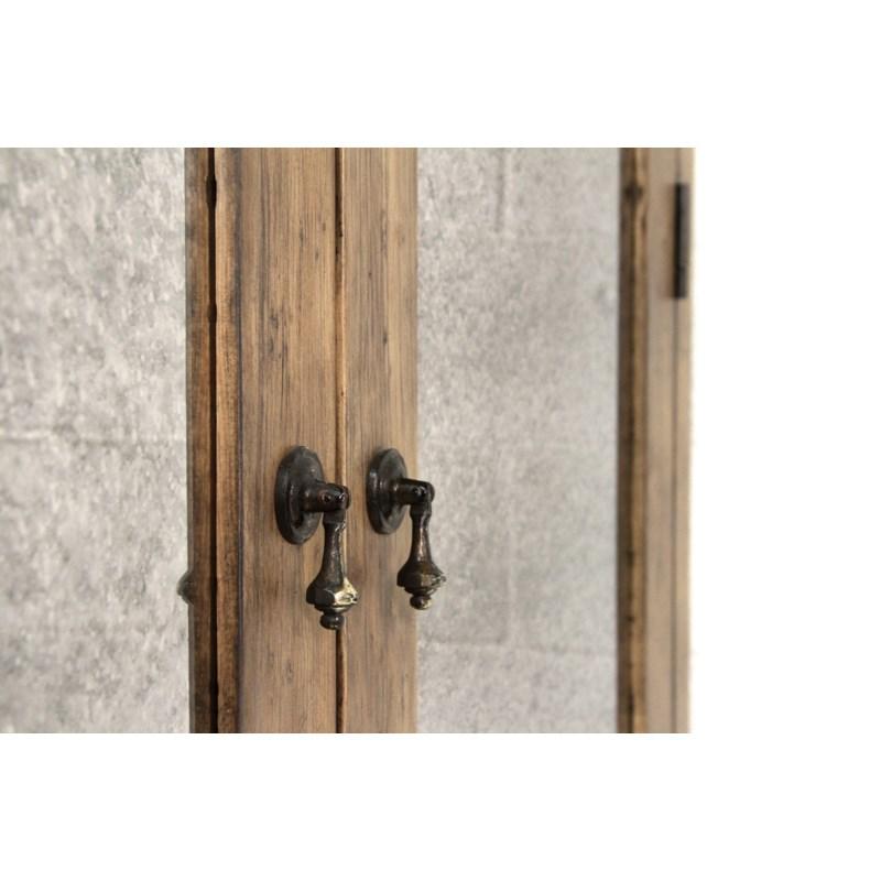 Granada Armoire LG Rnd Arch Driftwood