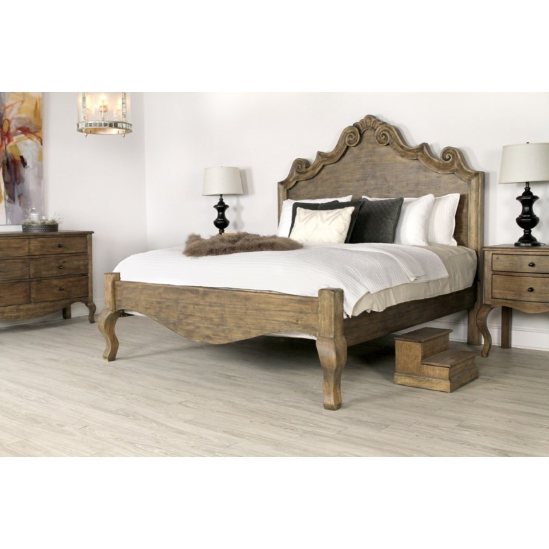 Letty 6 Drawer Chest Driftwood