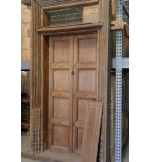 Wood Door with Frame