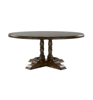 "Tuscany 70"" Rd Dining Chestnut /Birch"