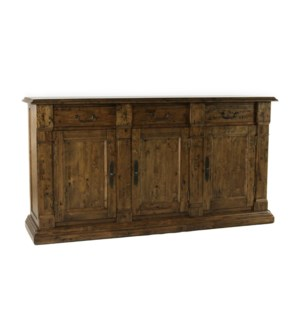 Tuscany 3 Door Buffet Earth /Birch