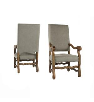 Ane Arm Chair Granite Ash / Earth Fin