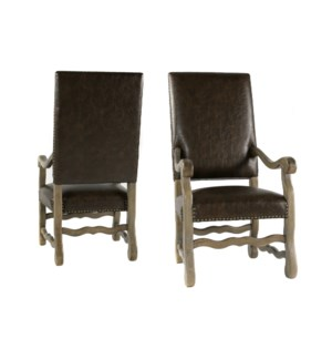 Ane Arm Chair Primo Timber/Driftwood